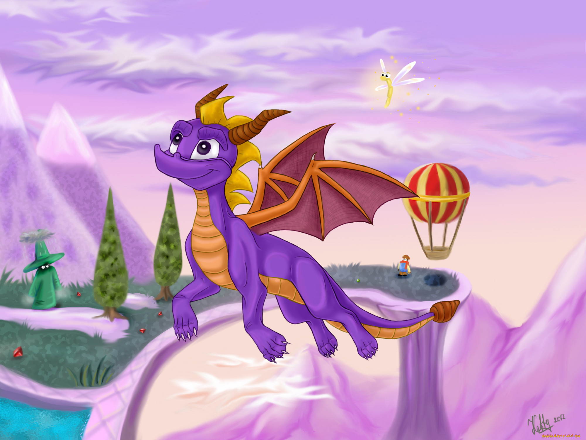 Сказка про дракона картинки